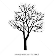 trees dead branch stock vector 260939138 shutterstock