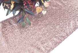 sequin table runner wholesale blush pink sequin table runners wholesale