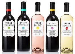 gift wine milestones wine labels wedding gift anniversary bridal
