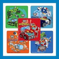 transformer rescue bots party supplies transformers party decals stickers fillers ebay