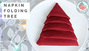 Decorative Napkin Folding Napkin Folding Tutorial Double Star Napkin Fold Technique