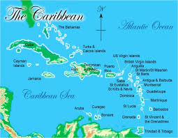 Blank Map Of Middle America by Map Of Caribbean You Can See A Map Of Many Places On The List On