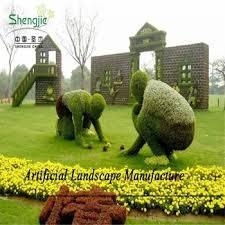 Topiary Trees Artificial Cheap - sjzjn 576 factory wholesale cheap artificial topiary animal