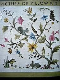 best 25 crewel embroidery kits ideas on