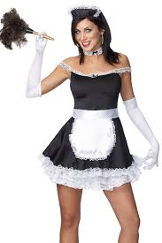 frisky french maid costume halloween costumes other