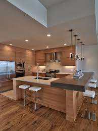 Kitchen With L Shaped Island Small Contemporary Kitchen Design With L Shaped Island Using White