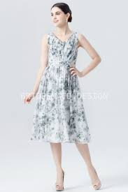 watercolor bridesmaid dresses simple watercolor floral print v neck sleeveless bridesmaid