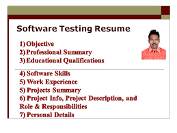 Testing Resumes 7 Years Experience Software Testing Resume Software Testing