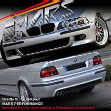 bmw e39 rear m5 style front rear bumper bar for bmw e39 523i 525i 528i 530i