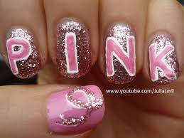 breast cancer awareness nail art tutorial youtube