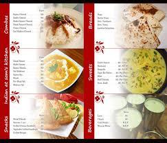 Designs Of Menu Card Restaurant Menu Designing And Printing Services Company In Delhi