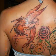 Fairy And Flower Tattoo Designs 29 Enthusiastic Fairy Tattoo Designs