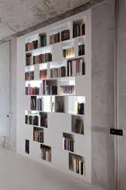 Wooden Wall Bookshelves by Luxury Bookcase Wall Unit U0027book 2 U0027 Minimalist Design Elegant And