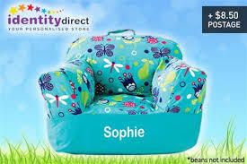 scoopon kids u0027 customised bean bag chair cover