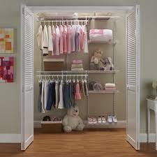 closetmaid shelftrack 5 8 ft closet organizer kit hayneedle