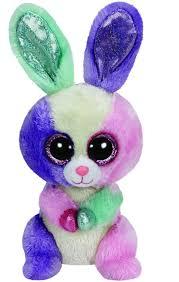 amazon ty beanie boos bloom multicolor bunny toys u0026 games