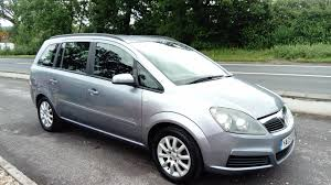 used vauxhall zafira 2005 for sale motors co uk
