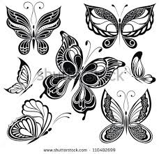 butterfly tattoo stock images royalty free images u0026 vectors
