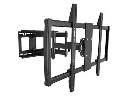 home theater installation certification amazon com monoprice full motion wall mount bracket for 60