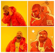 Drake Meme - draw drake meme by dodobirdsong on deviantart