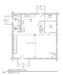 plans package 35x35 log home builders association