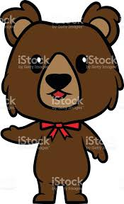 imagenes animadas oso carácter vector ilustración de dibujos animados oso grizzly arte