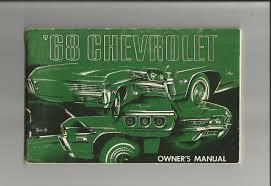 28 1968 impala repair manual 68009 1968 chevrolet owners