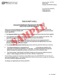 12 best images of from irs installment agreement sample irs form