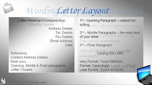 Writing A Business Email by How To Write A Business Reference Letter Youtube