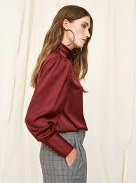 in satin blouses agnes satin blouse tops blouses kitri
