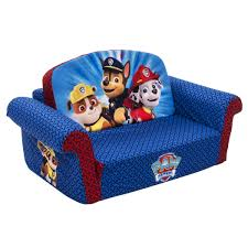 flip open sofa amazon com marshmallow children s furniture paw patrol flip open