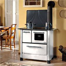 Kitchen Queen Wood Stove by Butter Yellow Wall Color With White Queen Wood Cook Stove Using