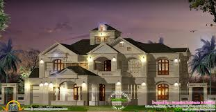 colonial style house plans 5 bedroom colonial style luxury villa kerala home design and