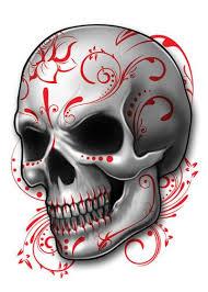 skull mix temporary set designs sugar skulls and