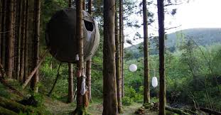 red kite tree tent wales best uk glamping experiences cn