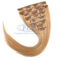 clip hair canada 16 inches clip in hair extensions canada color 27 strawberry