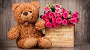 60 wallpaper hd android clash roses and chocolate and teddy bear hd wide wallpaper for