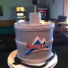 how much is a keg of coors light coors light keg cake if your man likes coors this would be a cool