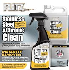 what is the best cleaner to remove grease from kitchen cabinets stainless steel chrome cleaner