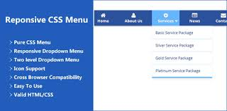 responsive design css free responsive css menu gtect systems