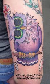 cute little owl by jessica weichers tattoos