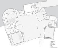 salk institute floor plan lewis arts complex by steven holl architects and bnim architects
