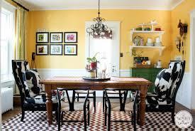 a summer dining room