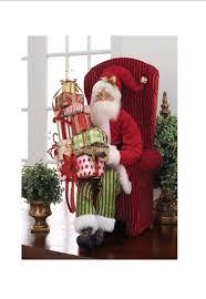 raz christmas at shelley b home and holiday raz santa with presents