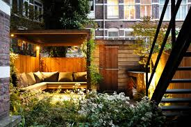 City Backyard Ideas Small City Garden Contemporary Patio Amsterdam By Boekel
