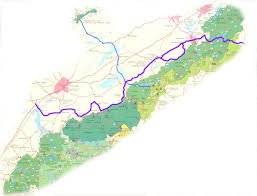 Great Smoky Mountains National Park Map Great Smoky Mountains Byway More About The Byway