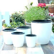 awesome designer planter pots indoors copper planters indoor plant