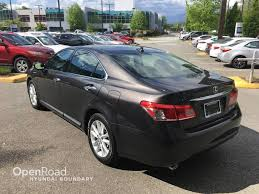 lexus suv for sale vancouver bc used 2011 lexus es 350 for sale in boundary bc openroad hyundai