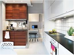 decorations small space kitchen with l shaped cabinet in white