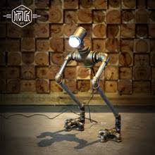 popular vintage robot lamp buy cheap vintage robot lamp lots from
